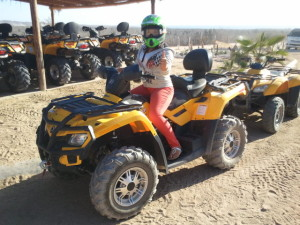Yellow ATV cabo san lucas